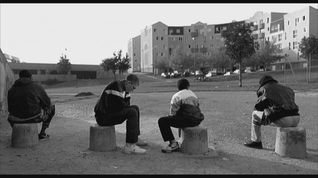 La Haine (1995) de Mathieu Kassovitz - Édition Criterion 2012 - Capture Blu-ray