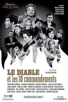 Le Diable et les 10 commandements (1962) de Julien Duvivier - Digibook - Blu-ray + DVD + Livret – Packshot Blu-ray