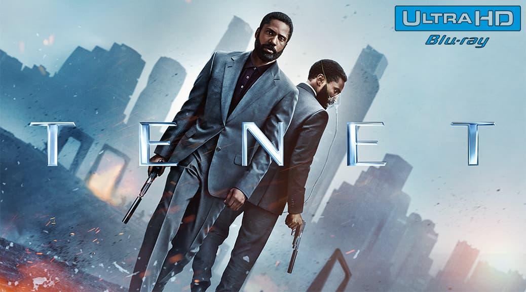 Tenet (2020) de Christopher Nolan – Blu-ray 4K Ultra HD