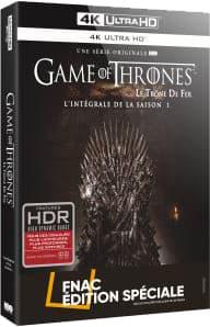 Game of Thrones : Saison 1 – Édition Spéciale Fnac - Packshot Blu-ray 4K Ultra HD
