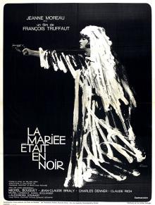 La Mariée était en noir - Affiche