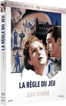 La Règle du jeu (1939) de Jean Renoir - Packshot Blu-ray