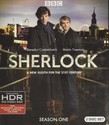 Sherlock: Season One - Packshot Blu-ray 4K Ultra HD