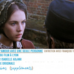 L'Histoire d'Adèle H. - Capture Menu Blu-ray