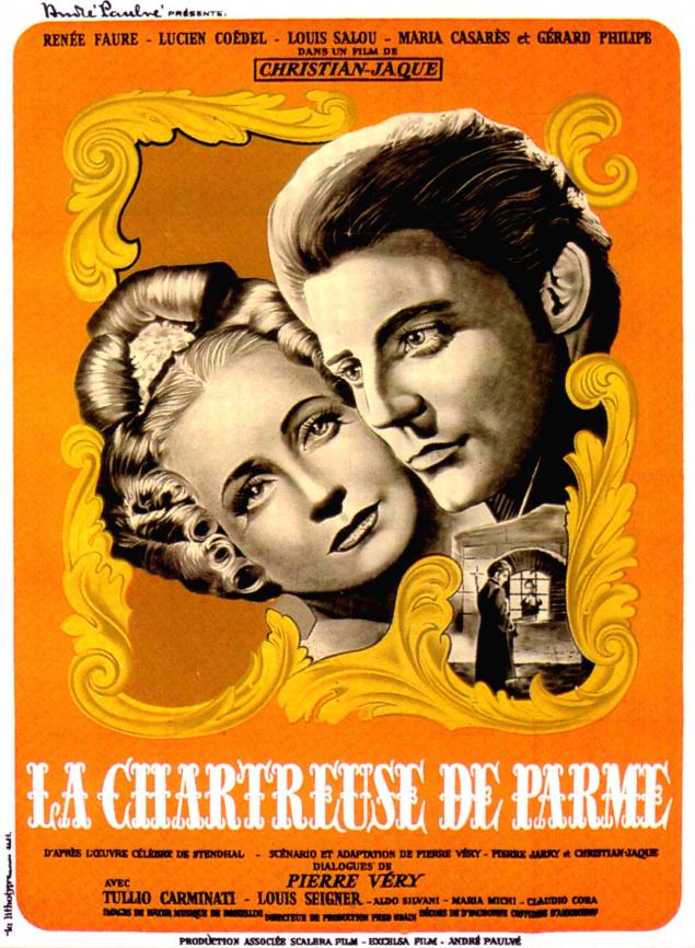 La Chartreuse de Parme - Affiche