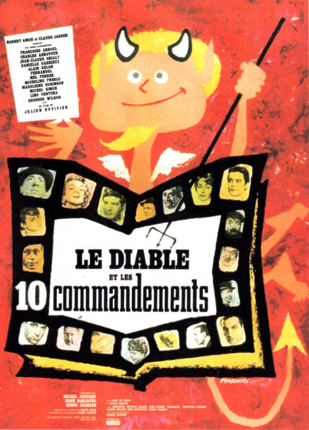 Le Diable et les 10 commandements - Affiche