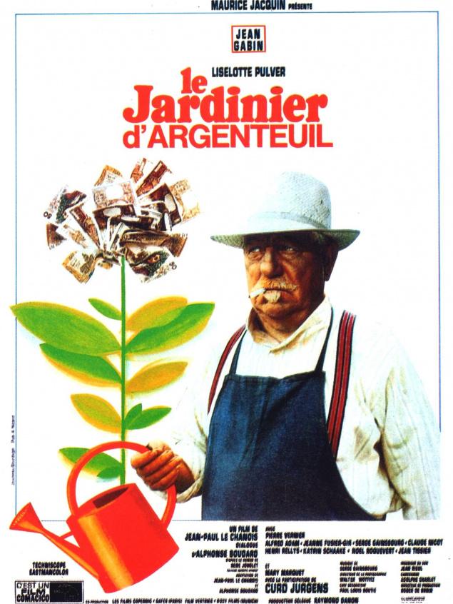 Le Jardinier d'Argenteuil - Affiche