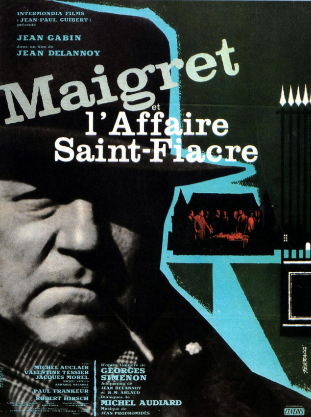 Maigret et l'affaire Saint-Fiacre - Affiche