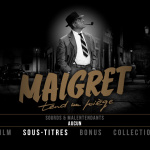 Maigret tend un piège - Capture menu Blu-ray Coin de Mire Cinéma