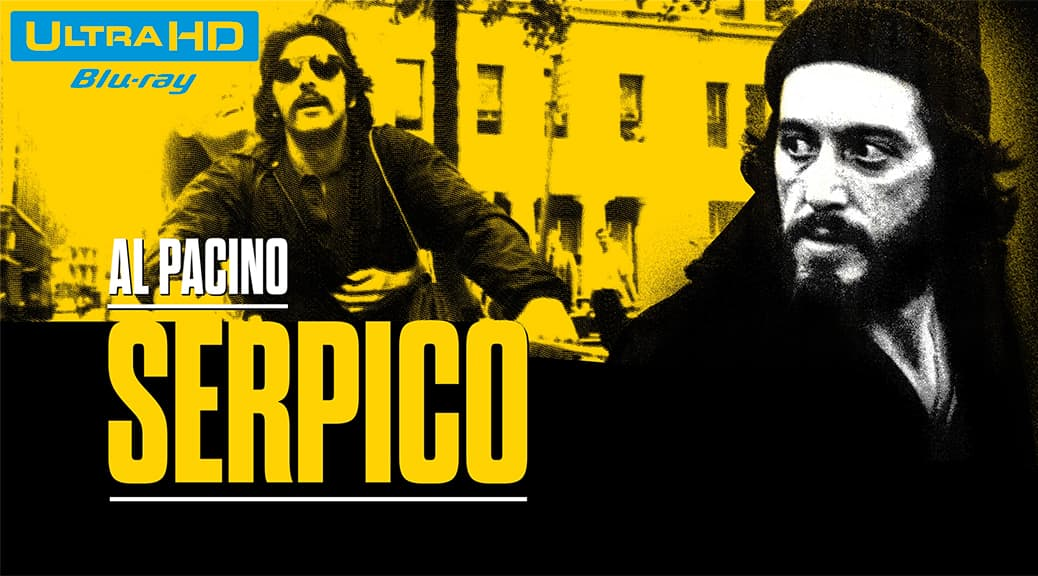 Serpico (1973) de Sidney Lumet - Blu-ray 4K Ultra HD