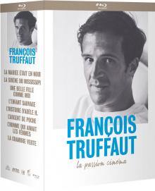 Coffret Truffaut (Arte) - Cover 3D Blu-ray