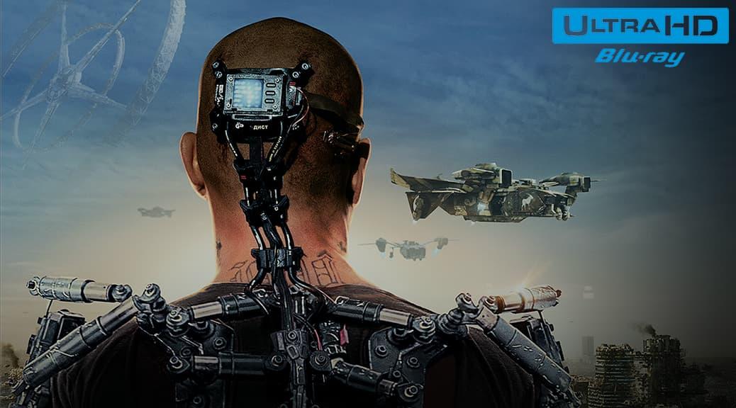 Elysium (2013) de Neill Blomkamp – Blu-ray 4K Ultra HD