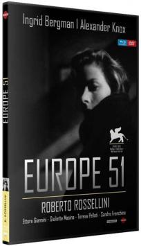Europe 51 (1952) de Roberto Rossellini - Packshot Blu-ray