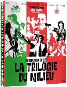 Fernando Di Leo - La Trilogie du milieu (1972) de Fernando Di Leo - Packshot Blu-ray