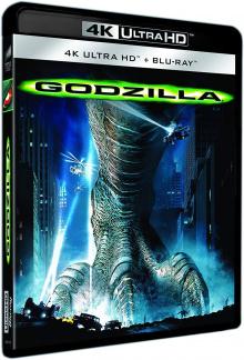 Godzilla (1998) de Roland Emmerich - Packshot Blu-ray 4K Ultra HD