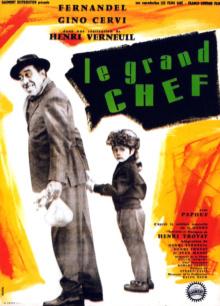 Le Grand chef - Affiche
