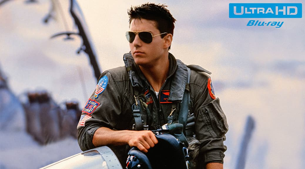 Top Gun (1986) de Tony Scott – Blu-ray 4K Ultra HD
