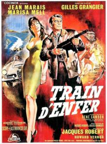 Train d'enfer (1955) - Affiche