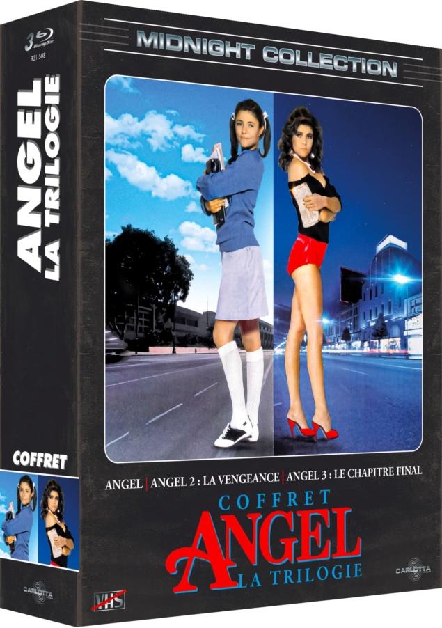 Angel – La trilogie – Packshot Blu-ray pour Jeu Concours