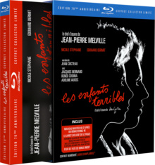 Les Enfants terribles - Jaquette Blu-ray