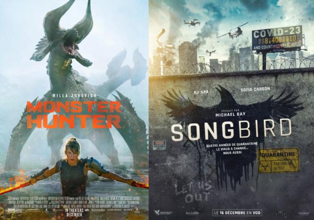 Monster Hunter - Songbird - Affiches