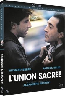L'Union sacrée (1989) de Alexandre Arcady – Packshot Blu-ray