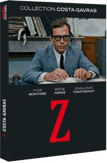 Z (1969) de Costa-Gavras – Packshot Blu-ray