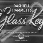 La Clé de verre - Capture Blu-ray