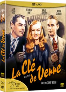 La Clé de verre - Jaquette Blu-ray 3D