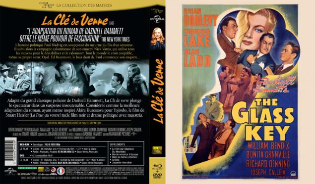 La Clé de verre - Jaquette Blu-ray 2D