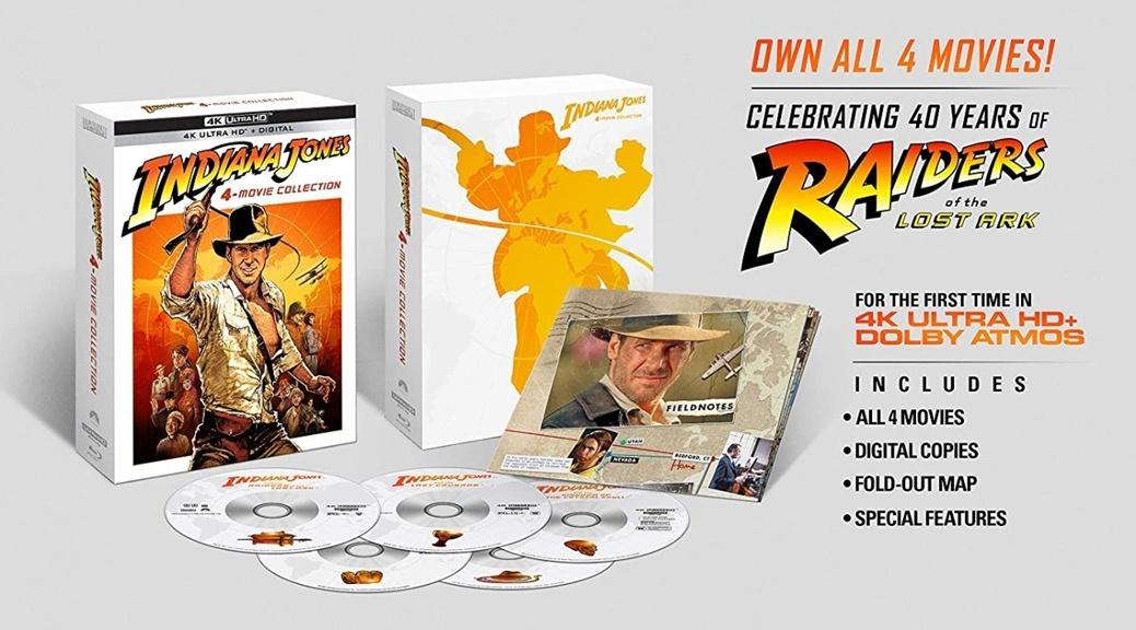 Indiana Jones - Coffret 4K