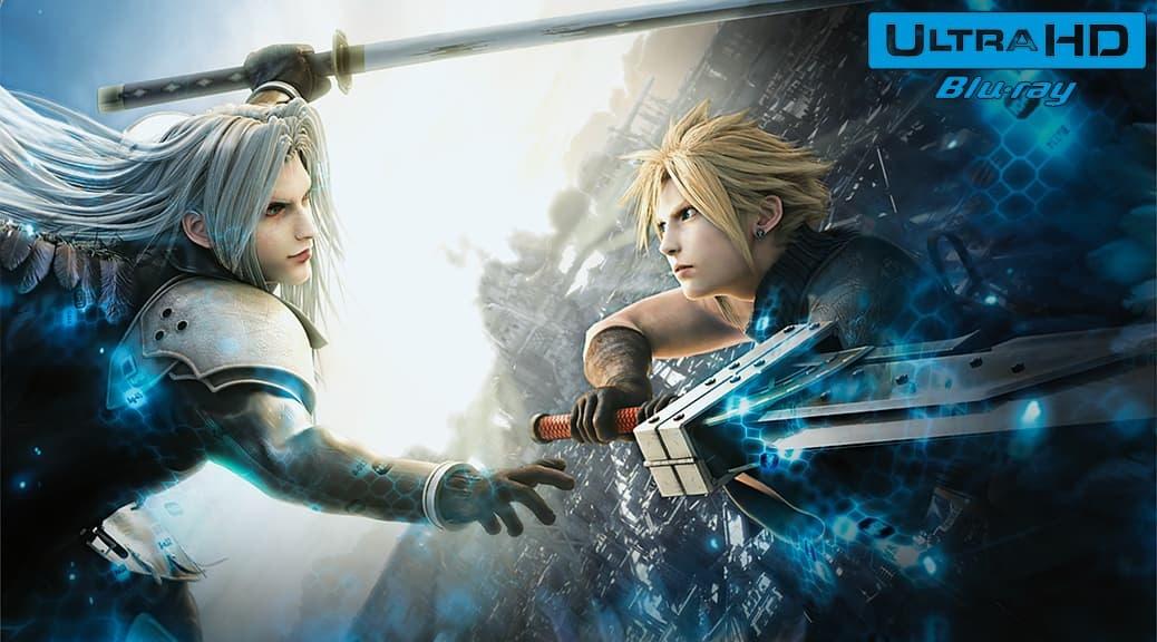 Final Fantasy VII: Advent Children (2005) de Tetsuya Nomura et Takeshi Nozue - Blu-ray 4K Ultra HD