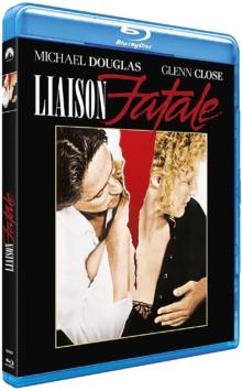 Liaison fatale (1987) de Adrian Lyne - Packshot Blu-ray