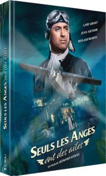 Seuls les anges ont des ailes (1939) de Howard Hawks - Édition Mediabook Collector Blu-ray + DVD + Livret - Packshot Blu-ray
