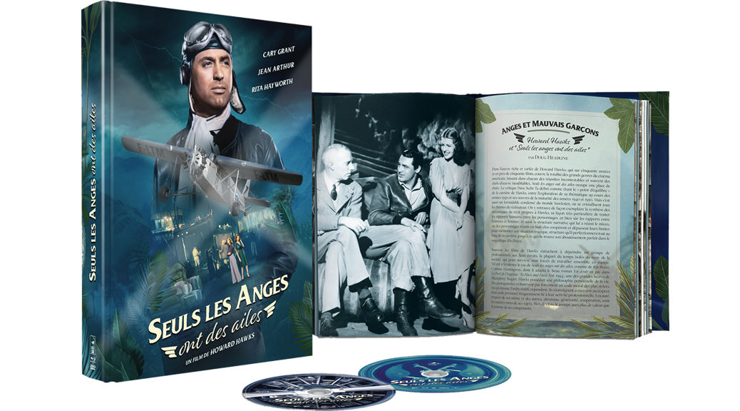 Seuls les anges ont des ailes - Image une sorties Blu-ray