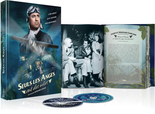 Seuls les anges ont des ailes - Scénograpihie Combo Blu-ray + DVD