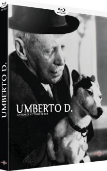 Umberto D. (1952) de Vittorio De Sica - Packshot Blu-ray