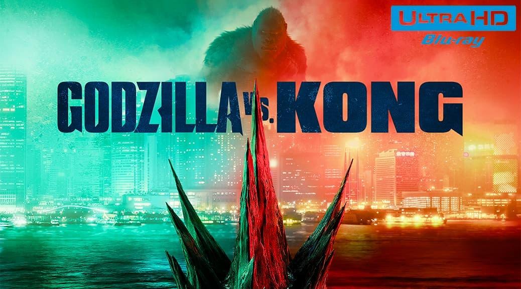 Godzilla vs Kong (2021) de Adam Wingard - Blu-ray 4K Ultra HD