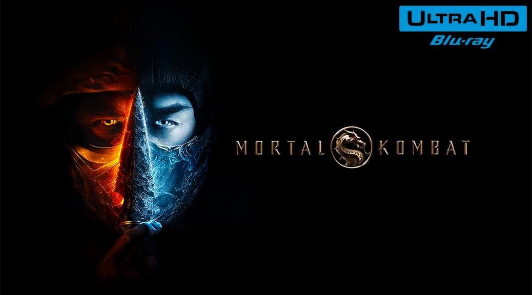 Mortal Kombat (2021) de Simon McQuoid - Édition Steelbook - Blu-ray 4K Ultra HD