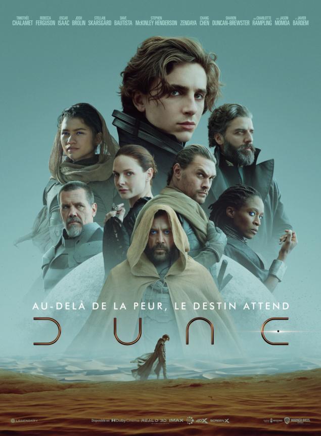 Dune (2021) - Affiche