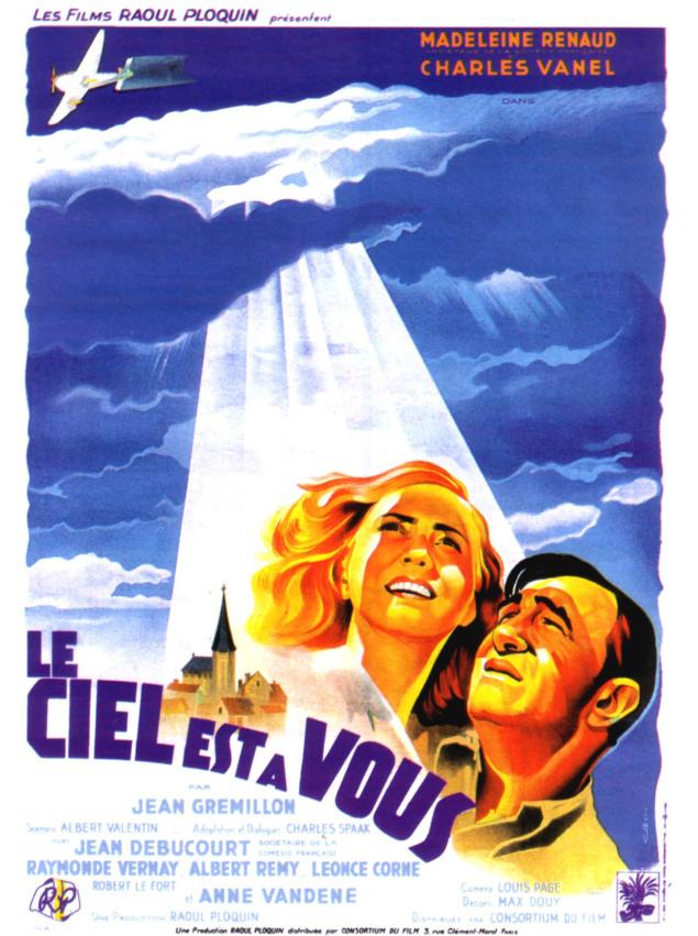 Le Ciel est à vous - Affiche 1944