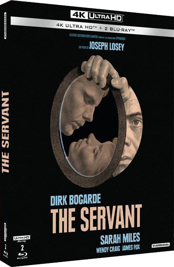 The Servant - Jaquette Blu-ray 4K