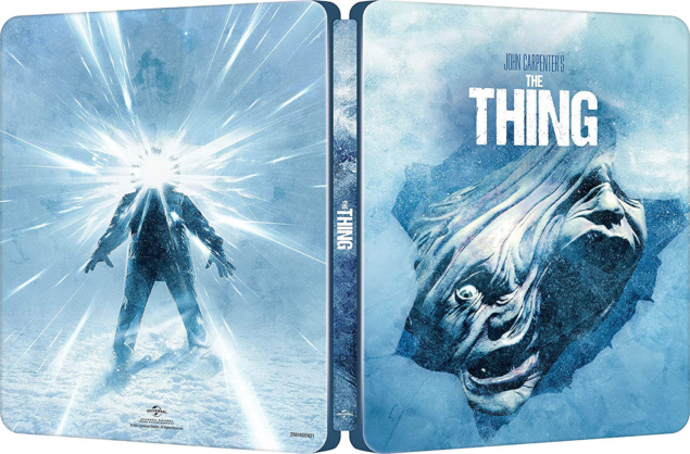The Thing - Packshot ouvert BR 4K