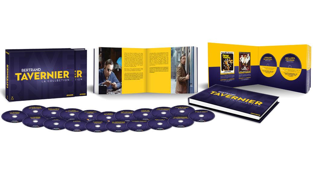 Coffret Tavernier - Image une planning Blu-ray