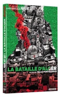 La Bataille d'Alger (1966) de Gillo Pontecorvo - Packshot Blu-ray