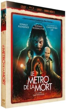 Le Métro de la mort (1972) de Gary Sherman - Édition Collector Blu-ray + DVD + Livret - Packshot Blu-ray